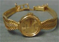 18 K Ladies Vintage Rolex Case and Bracelet.