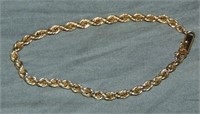 Estate lot of 14K gold jewelry.