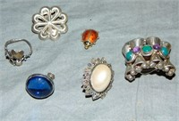 Silver Jewelry Lot.