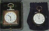 Clock Lot of Two.