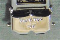 14 K White Gold and Platinum Deco Bracelet.