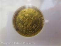 1878 Liberty $2 1/2 Quarter Eagle Gold Coin