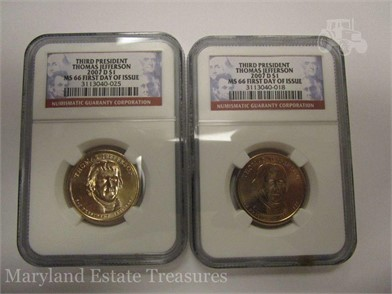 2007 D Jefferson 1 Coins First Day Of Issue Other Items For