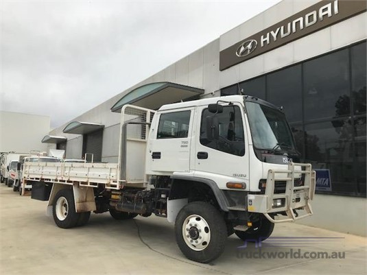 2007 Isuzu FTS 750 4x4 Dual Cab Adelaide Quality Trucks & AD Hyundai Commercial Vehicles - Trucks for Sale