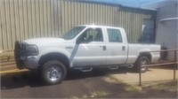 2005 F-250 SUPER DUTY 4X4 OVER ON MIL.