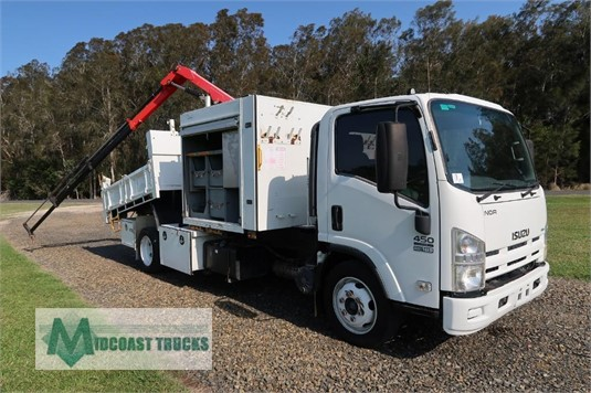 2012 Isuzu NQR 450 Long Midcoast Trucks - Trucks for Sale