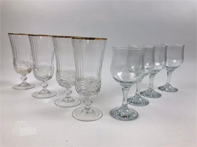 2 Sets Of Goblets 4 Each Other Items For Sale In Texas 1