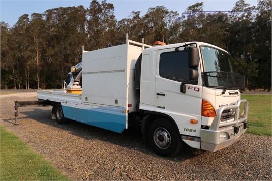 2012 Hino FD 1024 - Trucks for Sale