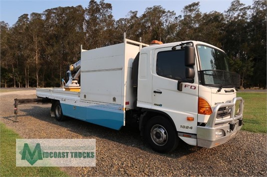 2012 Hino FD1024 Midcoast Trucks - Trucks for Sale