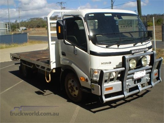 2010 Hino Dutro Black Truck Sales - Trucks for Sale