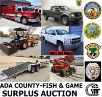 Ada County Surplus - Fleet / Equipment - Nov. 14th, '19 6pm