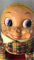 """Vintage Humpty Dumpty Figure 10"""" Tall Plastic"""