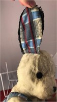 "Vintage Gund Stuffed Dog 12"" Tall"