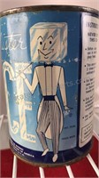 Vintage Mr Ice Metal Can of Liquid Ice 4 1/2 x 3