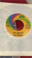 Collection of Pop and Rock 45rpm Records Elvis,