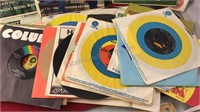 Large Collection of 45rpm Records Standards Jazz