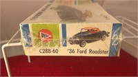 Vintage Pyro Plastic 36 Ford Roadster Model Car