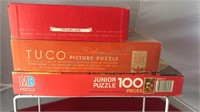 3 Vintage Jigsaw Puzzles