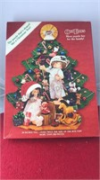 Vintage Christmas Tree Shaped Jigsaw Puzzle