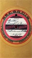 Collection of 1949  Vintage Wilcox-Gay Recordio