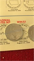 1969 Shell Oil States of the Union Collector Coin