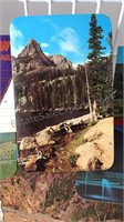 Collection of Vintage Travel Scenic Postcards and