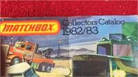 """1982-83 Matchbox Collectors Catalog 6x4 1/2"""""""