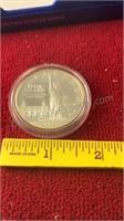 1986 US Liberty Coin Set Dollar and 50 Cent piece