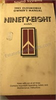 Collection of Vintage Auto Owners Manuals Grand