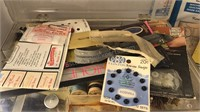 Collection of Vintage Sewing and  Craft  Items