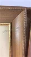"""2 Antique Car Prints In Matching Frames 12x11"""""""