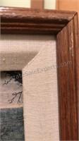 Framed Norman Rockwell Gallery Print Main Street