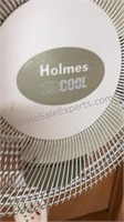 """Holmes 2 Cool Floor Fan 18"""" Diameter and 51"""" Tall"""