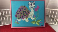"Framed Cross Stitch 10x8"""
