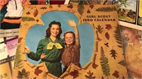 1960's Girl Scout Calendars