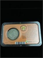 End of the frontier Morgan silver dollar
