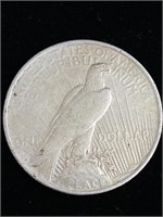 1928 peace dollar coin