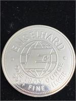 1984 American prospector silver Troy ounce coin