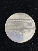 Department of the Interior meritorious medal