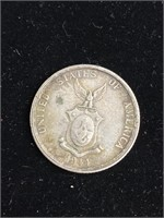 United States 1944 fifty centavos