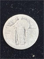 3 United States Liberty quarters (unknown dates)