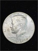 3 United States Kennedy half dollars