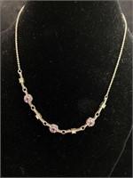 Jewel necklaces and bracelets