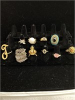 Many Assorted Rings lot