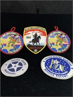 United States marshal and Boy Scouts patches