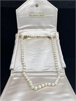 The jewelry vault beautiful pearl necklace