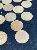 Large lot of Bundesrepublik of Deutschland coins