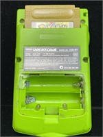 Gameboy Color and Bass fishin Game