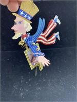 Uncle Sam ceiling hanger