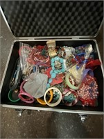 Huge lot of assorted costume jewelry